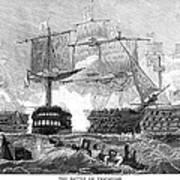 Battle Of Trafalgar, 1805 Art Print