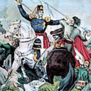 Battle Of Veracruz, Mexican-american Art Print