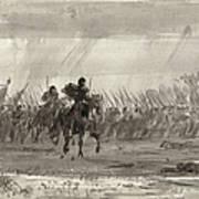 Battle Of Williamsburg Art Print