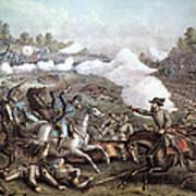 Battle Of Winchester, Art Print