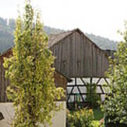 Bavarian Barn Art Print
