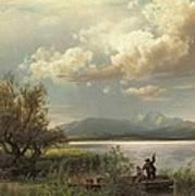Bayern Landscape Art Print