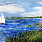 Bayville Marsh Art Print