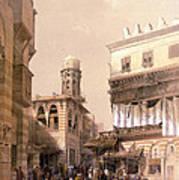 Bazaar Of The Coppersmiths Cairo Art Print