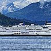 B.c. Ferries Art Print