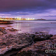 Beach At Dusk Art Print by Carlos Caetano