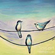Beach Birds Art Print