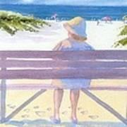 Beach Break Art Print