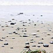 Beach Detail On Pacific Ocean Coast Of Canada Art Print