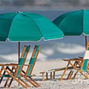 Beach Furniture I Art Print