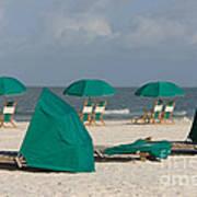 Beach Furniture II Art Print