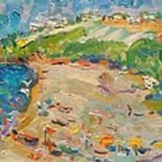 Beach In Goa India Art Print