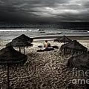 Beach Minstrel Art Print by Carlos Caetano