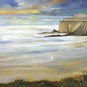 Beach On Highway One Art Print