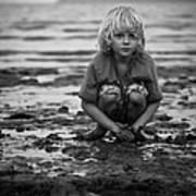 Beach Play Art Print