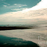 Beach Reflection Art Print