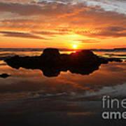 Beach Reflections Art Print