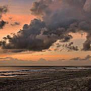 Beach Sunrise Obx  - C0983d Art Print