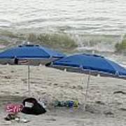 Beach Umbrells 40 Art Print