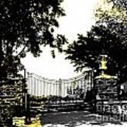 Beacon Rock Gate Newport Ri Art Print
