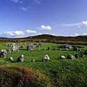 Beaghmore Stone Circles, Co. Tyrone Print by The Irish Image Collection