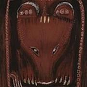 Bear Art Print by Sophy White