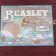 Beasley Produce Since 1931 Art Print