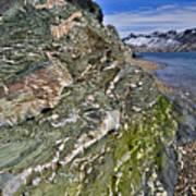 Beautiful Landscape Around Alkehornet Norway Art Print