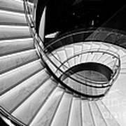 Beautiful Staircase Art Print