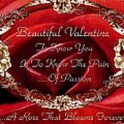 Beautiful Valentine Art Print
