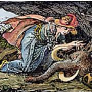 Beauty & The Beast, 1891 Art Print