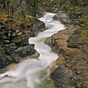 Beauty Creek, Banff National Park Art Print