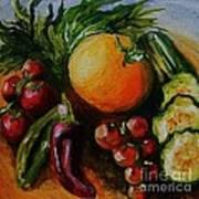 Beauty Of Good Eats Art Print