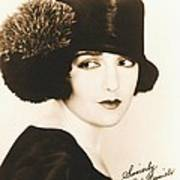 Bebe Daniels 1925 Art Print