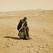 Bedouin Women Performing Traditional Art Print