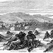 Beecher Island, 1868 Art Print