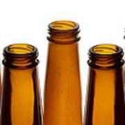 Beer Bottles 1 A Art Print