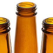 Beer Bottles 1 B Art Print