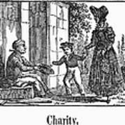 Beggar, C1830 Art Print
