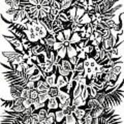 Bells And Cornflowers Art Print