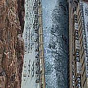 Below Hoover Dam Art Print
