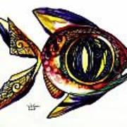 Benedict The Sixteenth Fish Art Print