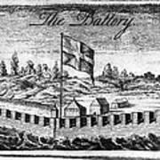 Benjamin Franklin: Battery Art Print