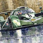 Bentley Prototype Exp Speed 8 Le Mans Racer Car 2001 Art Print by Yuriy  Shevchuk