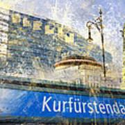 Berlin Composing Art Print