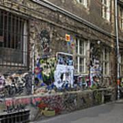 Berlin Graffiti - 1 Art Print