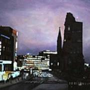 Berlin Nocturne Art Print