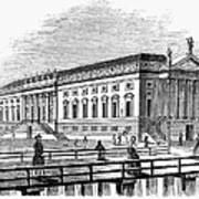 Berlin: Opera House, 1843 Art Print