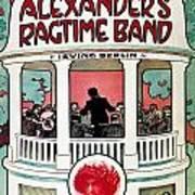 Berlin: Ragtime Band, 1911 Art Print
