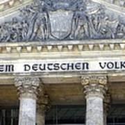 Berliner Reichstag Art Print